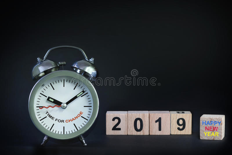 新年快乐2019年 免版税库存图片