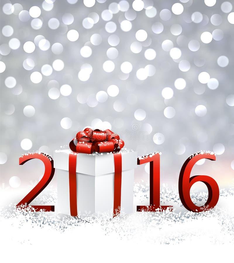 2016新年背景 皇族释放例证