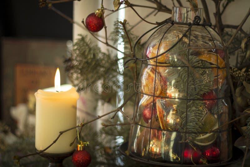 新年蜡烛 免版税图库摄影