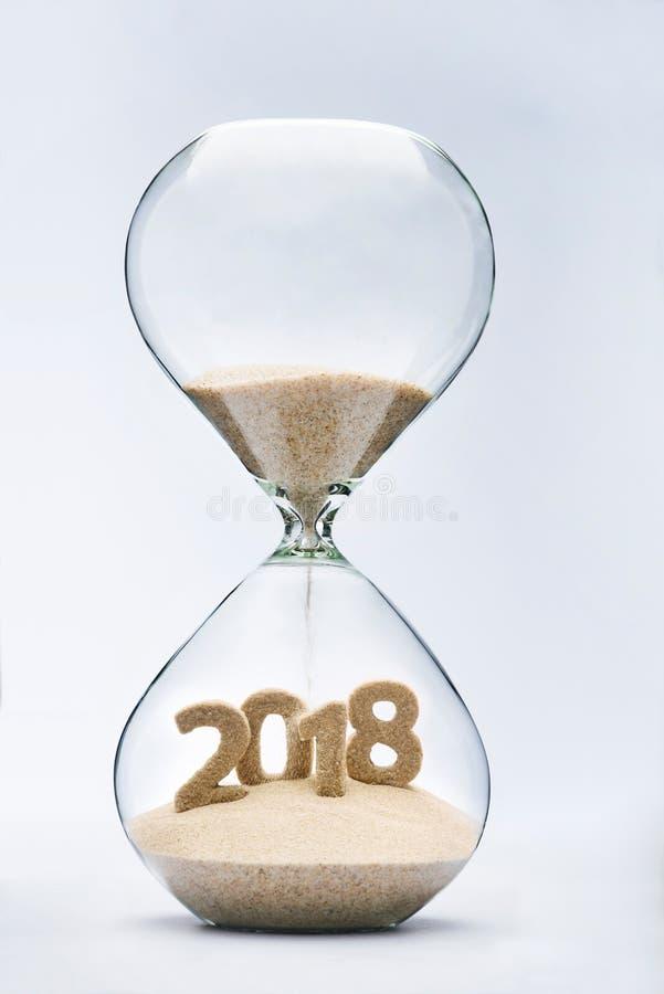 新年2018年 免版税库存照片
