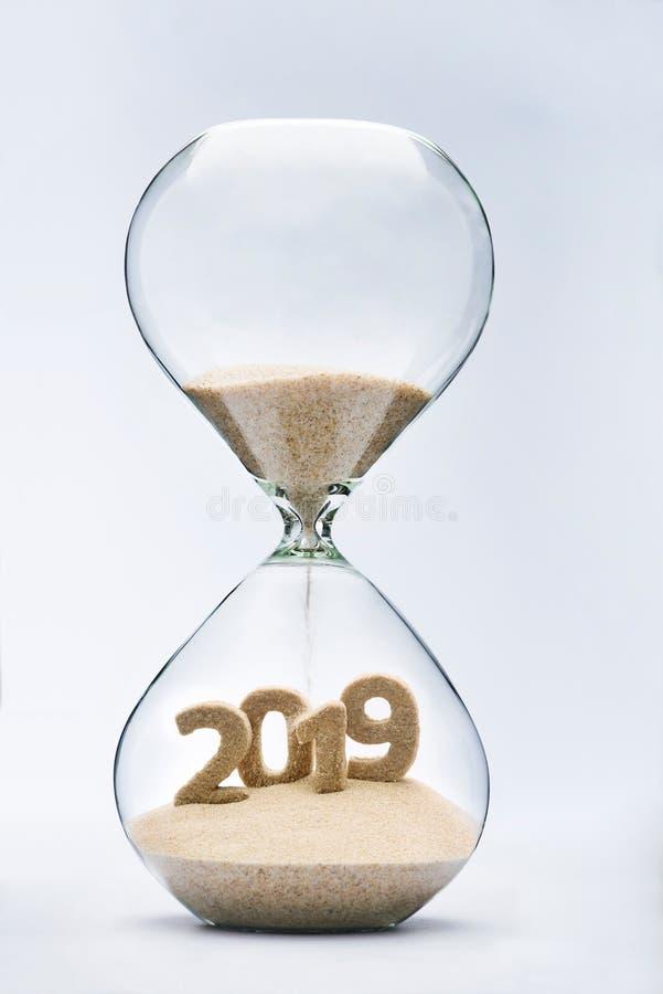 新年2019年 库存图片