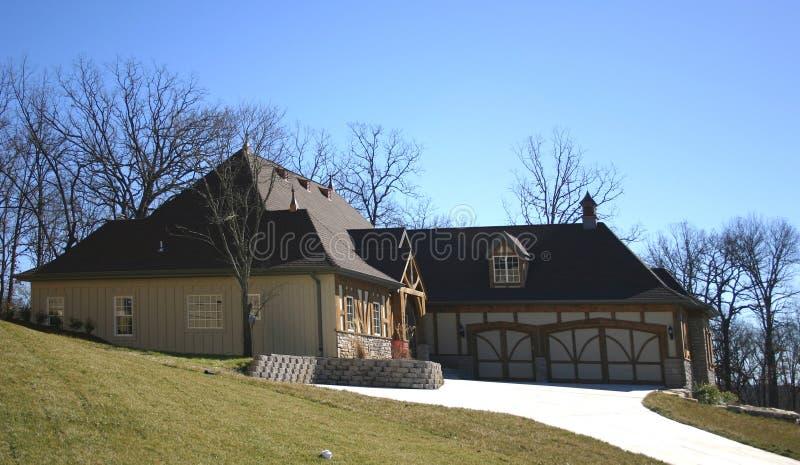 新1个的房子 免版税图库摄影