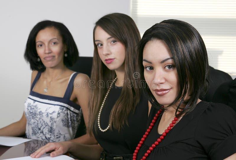 新3名的女实业家 库存照片