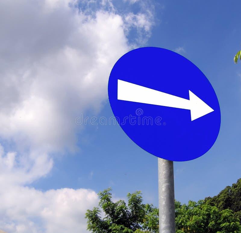 方向路标 库存照片