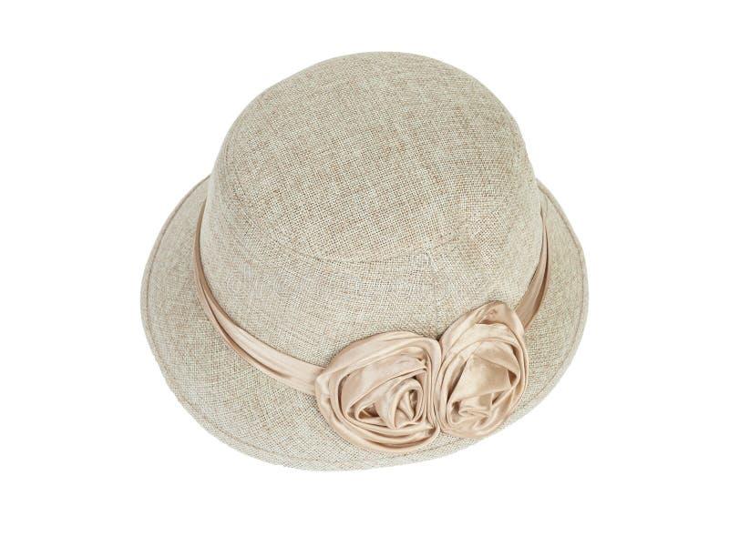 方式夫人帽子 免版税库存图片