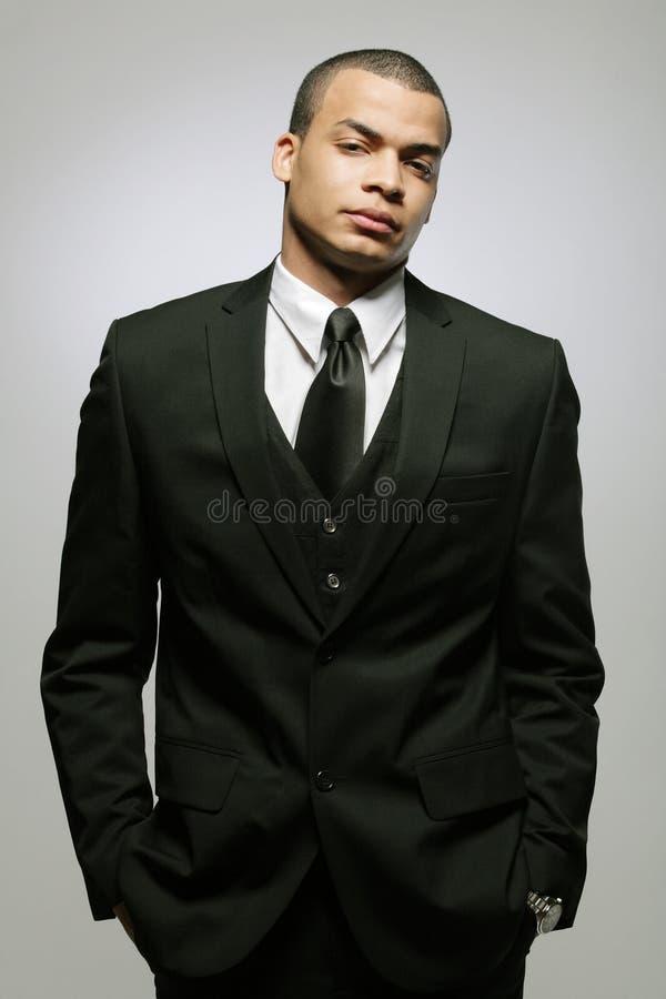 方式愉快的男性模型年轻人 免版税库存照片
