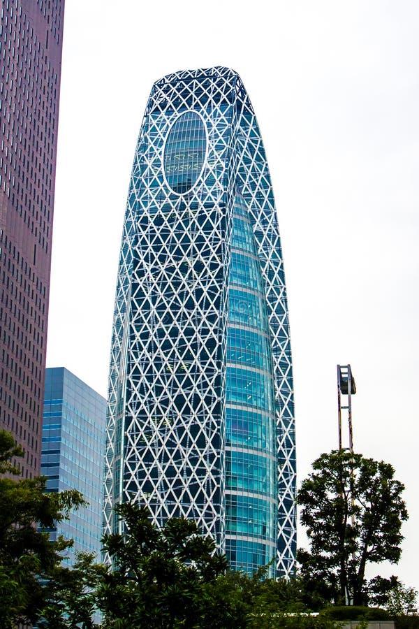 方式Gakuen茧塔在东京 免版税图库摄影