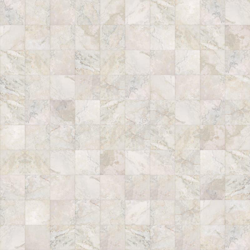 方形的无缝的大理石铺磁砖纹理 库存图片