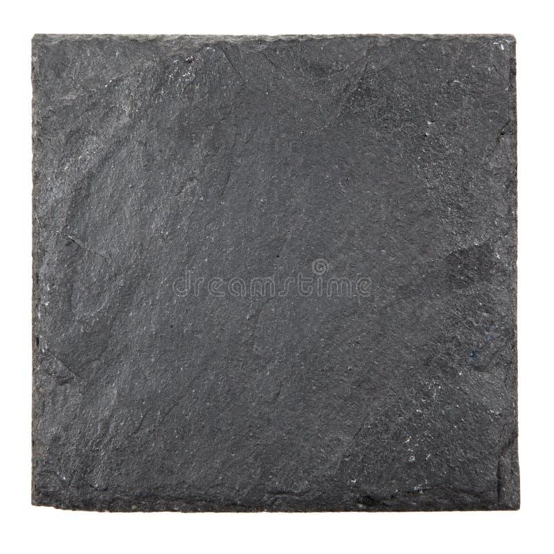 方形的板岩板 图库摄影