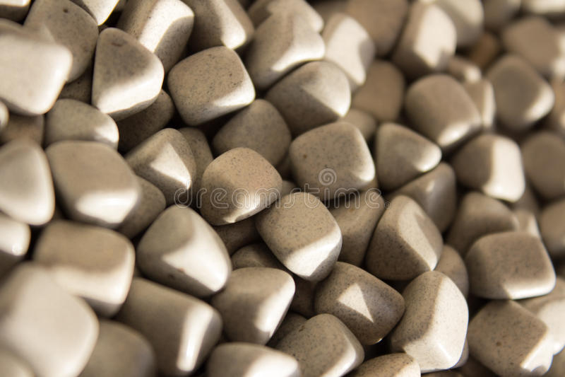 方形的石头 免版税库存照片