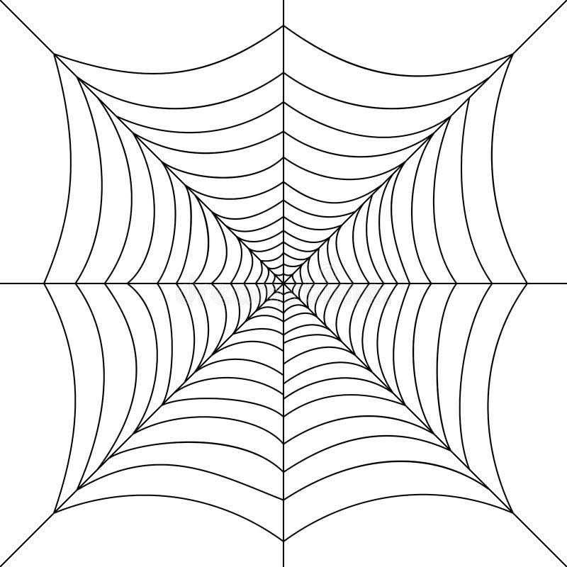 方形的网例证 皇族释放例证