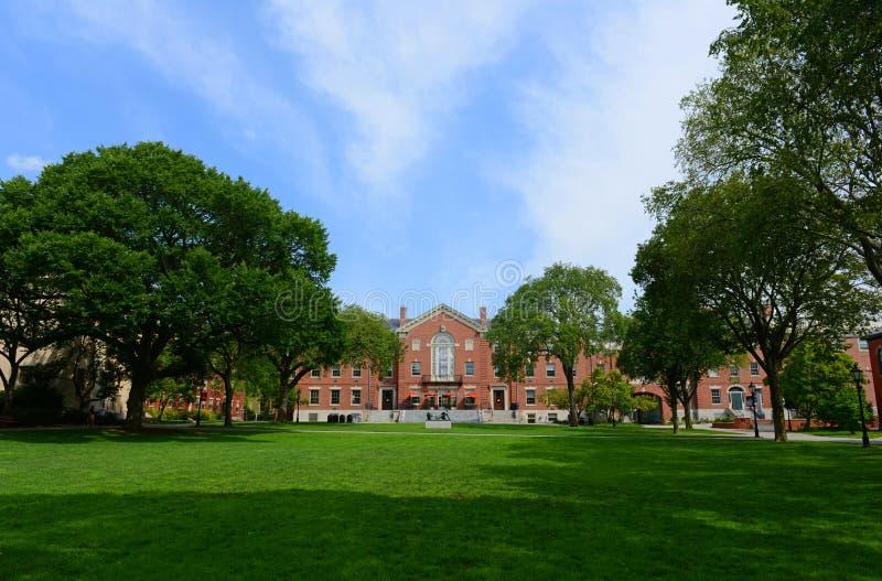 方斯议院,布朗大学,上帝, RI,美国 免版税库存照片