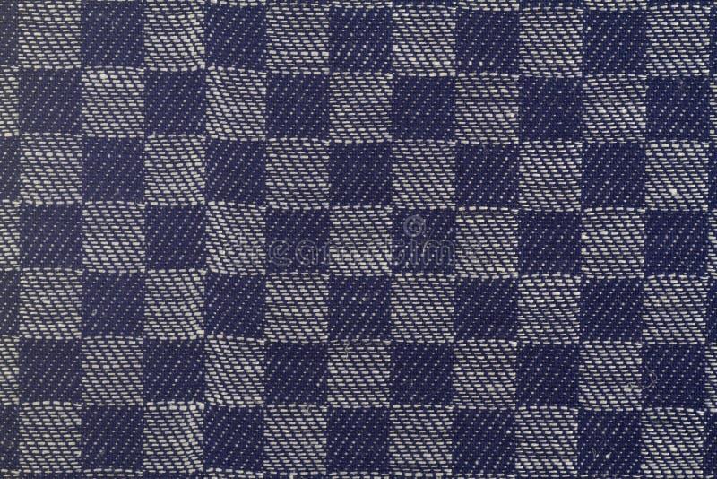 方格的纺织品 库存照片