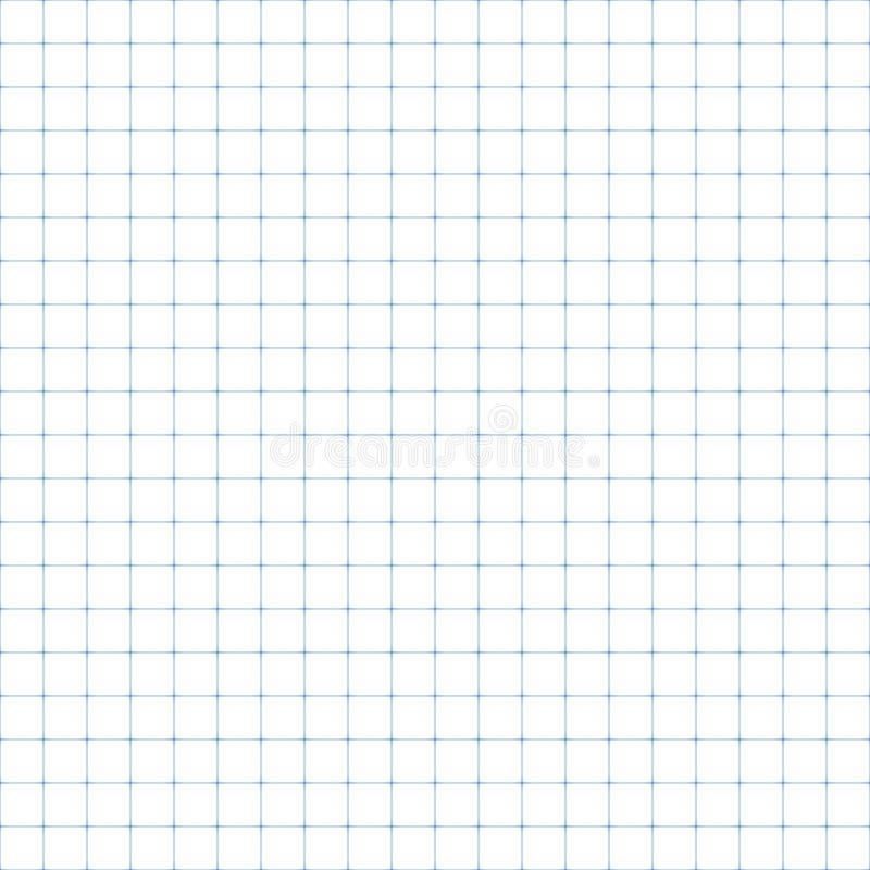 方格纸,无缝的例证 库存例证