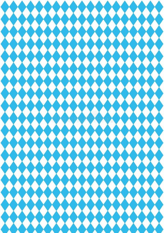 方格背景的蓝色 库存图片