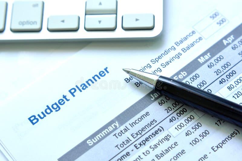 方案预算计划 库存图片