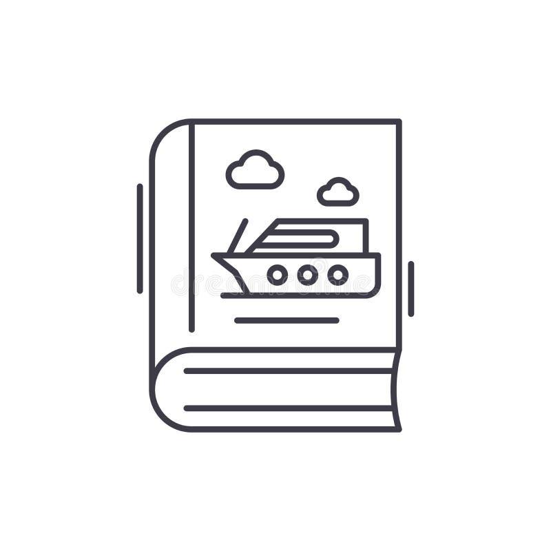 方针象概念 指南传染媒介线性例证,标志,标志 向量例证