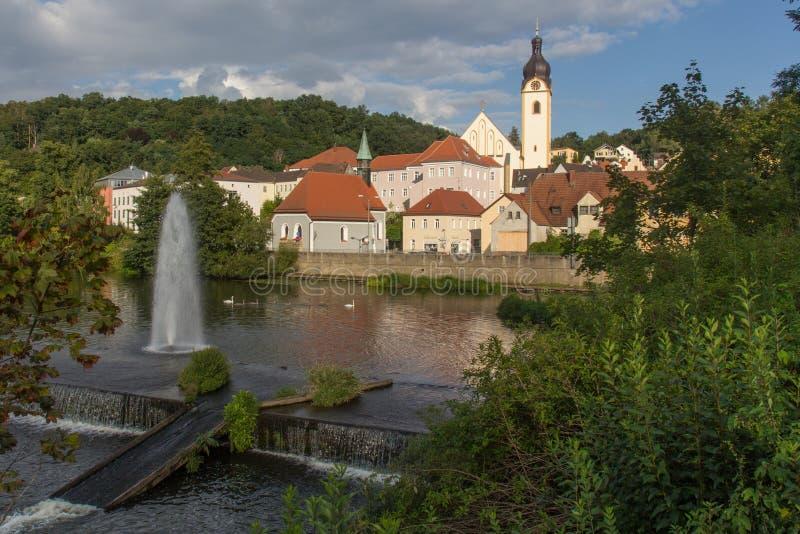 施万多尔夫在巴伐利亚 图库摄影