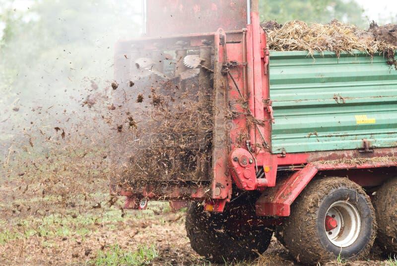 施肥领域 免版税库存图片