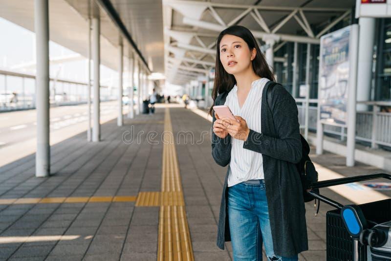旅客自已指南旅行在日本 免版税库存照片