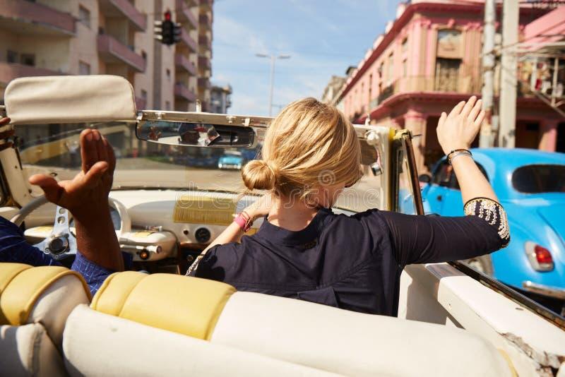 旅游业哈瓦那古巴 库存照片