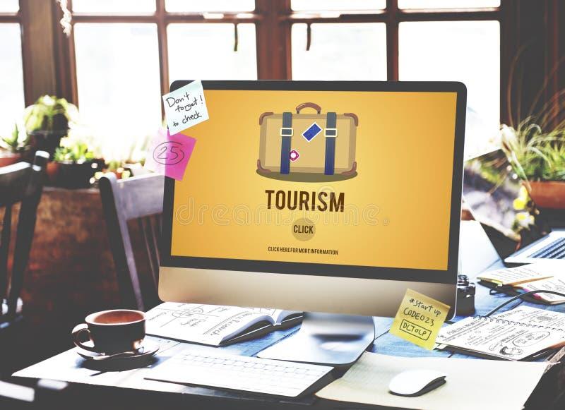 旅游业旅行旅行旅途目的地概念 免版税库存图片