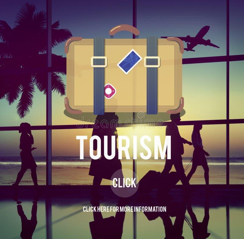 旅游业旅行旅行旅途目的地概念 免版税库存照片