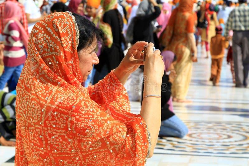 旅游妇女 免版税库存图片