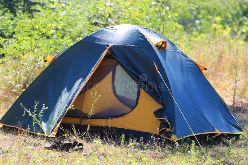 旅游帐篷 免版税库存图片