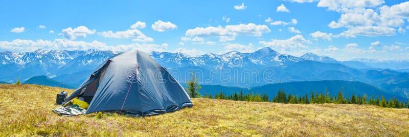 旅游帐篷 图库摄影