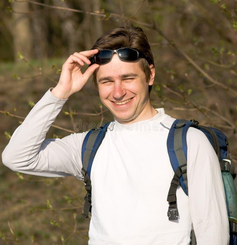 旅游年轻人 免版税库存照片
