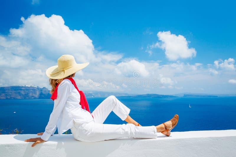旅游放松在度假 免版税库存图片
