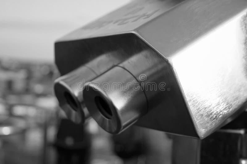 旅游的双筒望远镜 库存照片