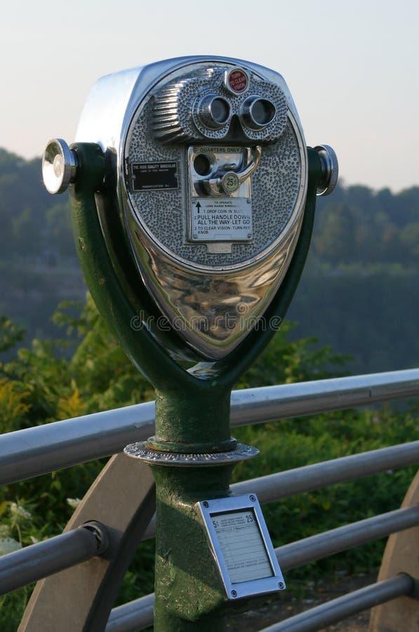 旅游的双筒望远镜 免版税图库摄影