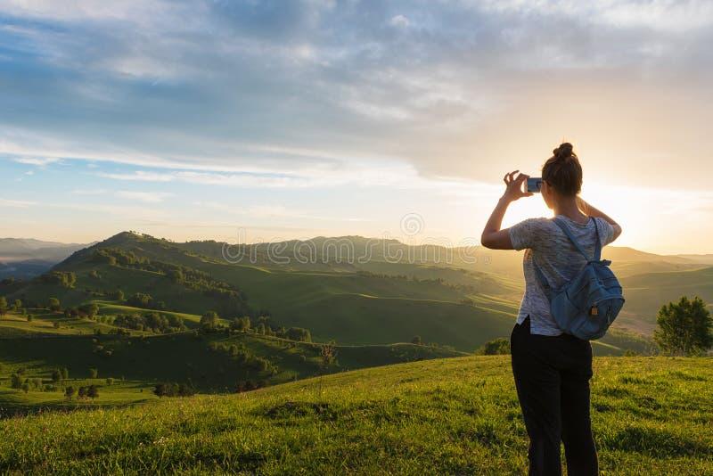 旅行、照片和真实生活概念 库存照片