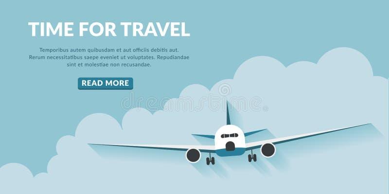 旅行与按钮的概念背景 免版税库存照片