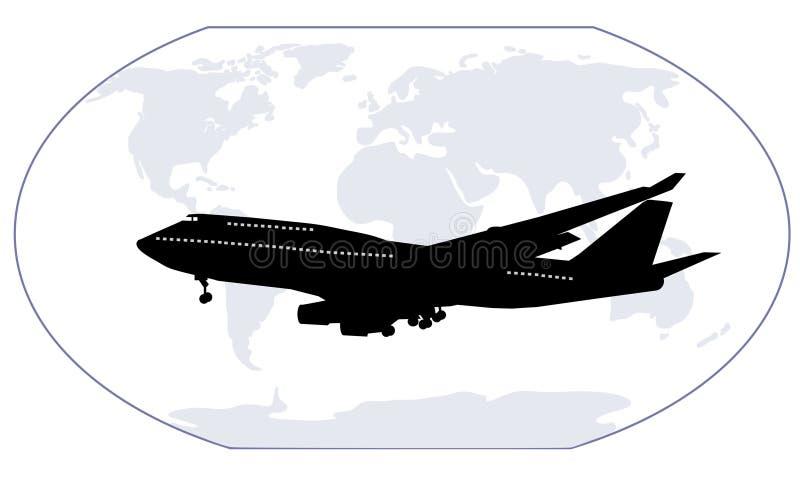 旅行世界 向量例证