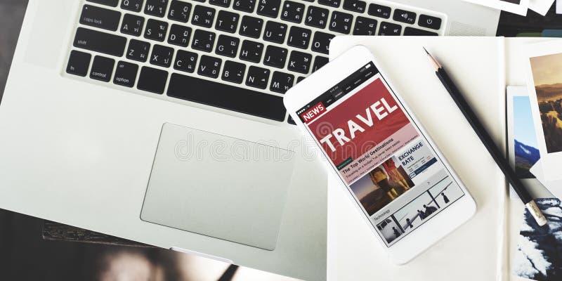 旅行假期假日目的地旅途数字式概念 库存照片