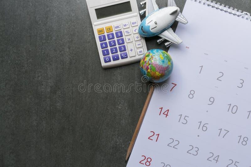 旅行假期旅行和长的周末计划的概念 免版税库存图片