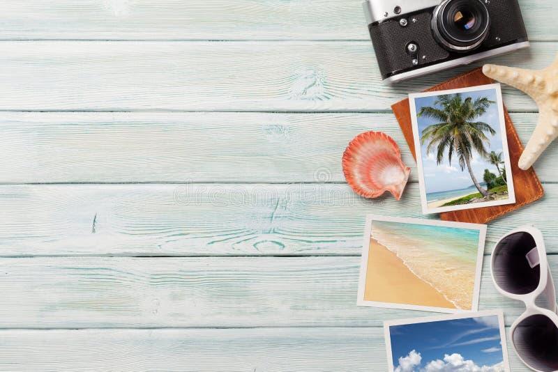 旅行假期背景概念 免版税库存图片