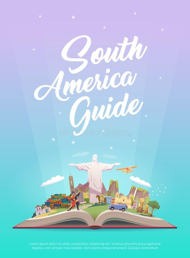 旅行向南美 皇族释放例证