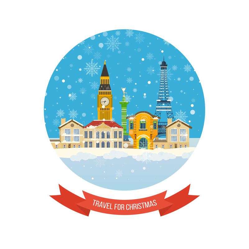 Download 旅行向圣诞节的欧洲 快活的圣诞节 向量例证. 插画 包括有 映射, 庆祝, 装饰, 降雪, 布琼布拉, 明信片 - 62525931