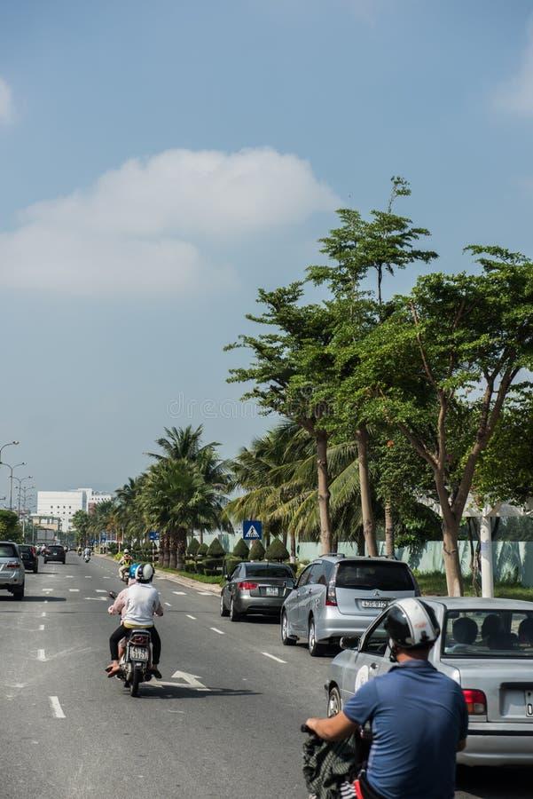 旅行向岘港市 库存图片