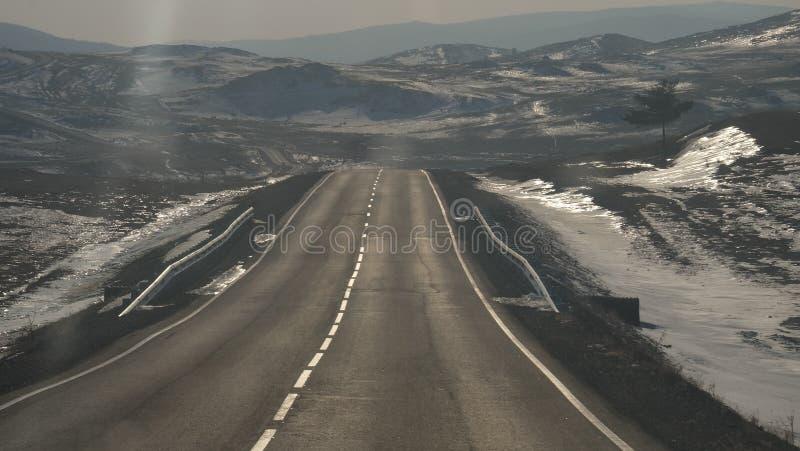 旅行向贝加尔湖,伊尔库次克俄罗斯 免版税库存照片