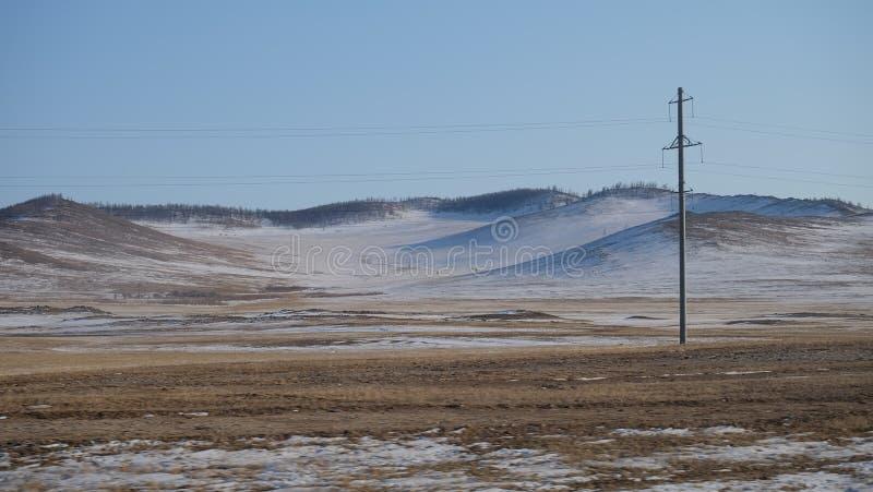 旅行向贝加尔湖,伊尔库次克俄罗斯 图库摄影