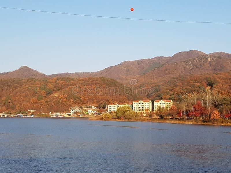 旅行向韩国 库存照片