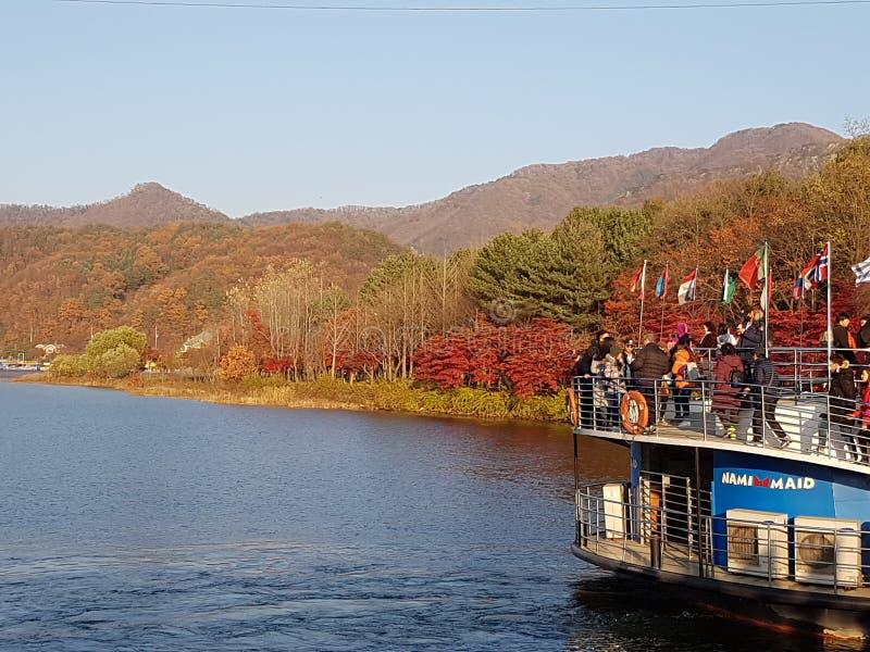 旅行向韩国 库存图片