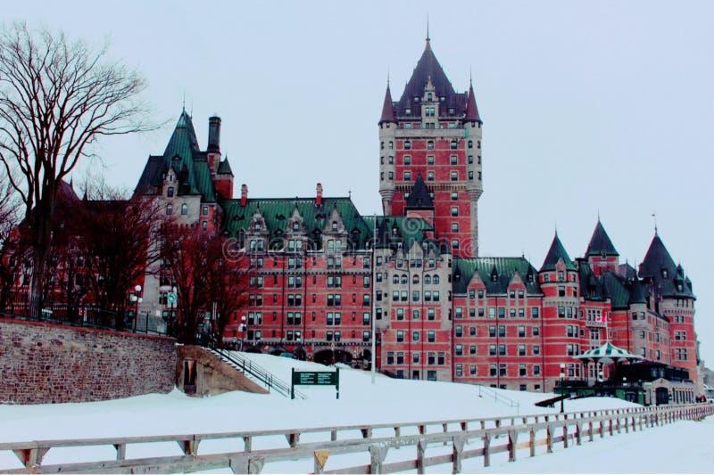 旅行向魁北克市1 免版税库存图片