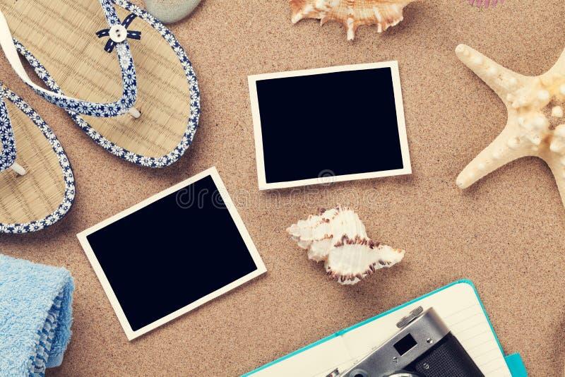 旅行和假期照片和项目 免版税库存图片
