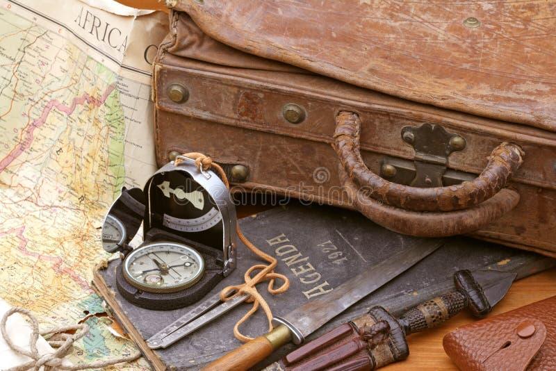 旅行和冒险 免版税库存图片